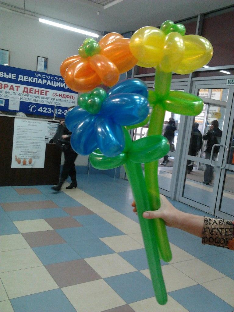 Букеты из воздушных шаров заказать в Нижнем Новгороде