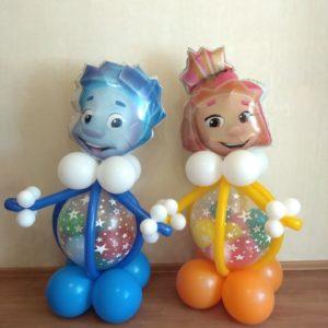 Заказать фигуры из воздушных шаров в Нижнем Новгороде