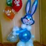 Заказать фигуры из шаров с доставкой при карантине в Нижнем Новгороде