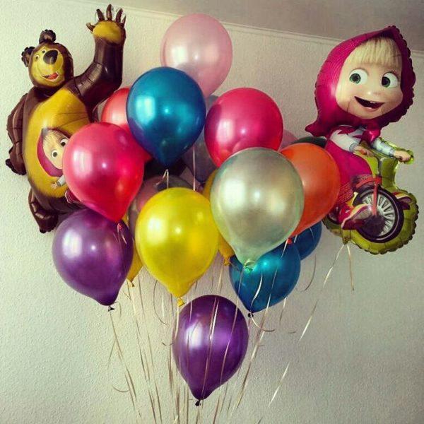аказать композицию из воздушных шаров в Нижнем Новгороде