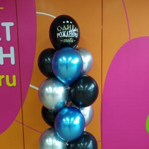 Заказать композицию из воздушных шаров купить в Нижнем Новгороде