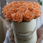 Заказать цветы из мыльных роз на карантине с доставкой в Нижнем Новгороде
