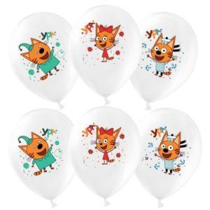 """Купить Воздушный шар """"Три кота"""" в Нижнем Новгороде"""